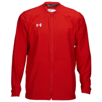 Under Armour Team Woven Warm-Up Jacket - Men's - Red