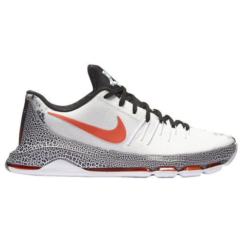 Nike KD VIII - Men's - Basketball - Shoes - Kevin Durant - White/Black/Bright  Crimson