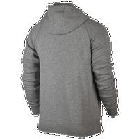 jordan clothing. jordan flight fleece full zip hoodie - men\u0027s grey / clothing