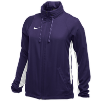 Nike Team Authentic Dry Jacket - Women's - Purple / White