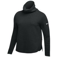 Nike Team Authentic Therma Pullover Top - Women's - Black / White