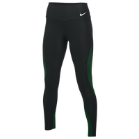 Nike Team Authentic Power Poly Wrap Tights - Women's - Black