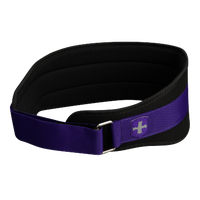 "Harbinger 5"" Foam Core Belt - Women's - Black / Purple"