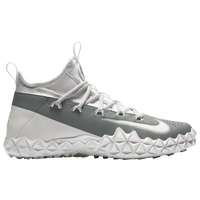 Nike Alpha Huarache 6 Elite Turf LAX - Men's - White / Grey