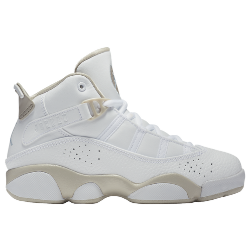 5a51b3a0cea ... wholesale jordan 6 rings boys preschool basketball shoes white sand  blue 97b86 7b1a3