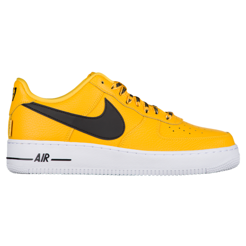 Nike Air Force 1 '07 LV8 NBA - Men's - Casual - Shoes - Amarillo/Black/White