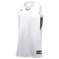 Under Armour Team Fury Jersey - Boys' Grade School - White / Grey
