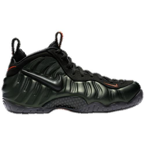 cf24688aabe greece nike air foamposite pro mens basketball shoes sequoia black team  orange 6aa83 af286