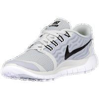 Nike Free 5.0 Gris Et Blanc