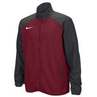 Nike Team Woven Jacket - Men's - Cardinal / Grey