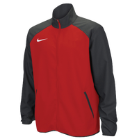 Nike Team Woven Jacket - Men's - Red / Grey