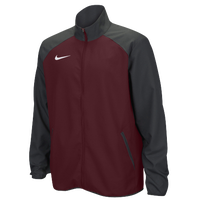 Nike Team Woven Jacket - Men's - Maroon / Grey