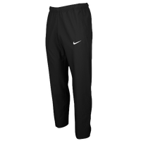 Nike Team Woven Pants - Men's - All Black / Black