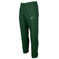Nike Team Woven Pants - Men's - Dark Green / Dark Green