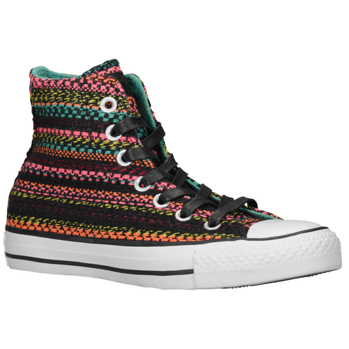 Converse All Star Knit - Girls' Grade School - Basketball - Shoes - Black/ Multi