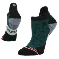 Stance Interval Run Tab - Women's - Dark Green / Black
