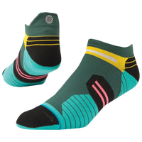 Stance Manoa Run Tab - Men's - Dark Green / Aqua