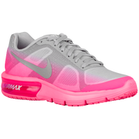 Nike Air Max Sequent - Girls' Grade School - Grey / Pink