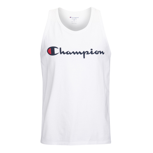 Champion Classic Jersey Ringer Tank - Men's Casual - White 24H94045
