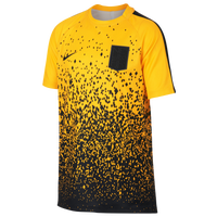 Nike Academy Short Sleeve Top - Grade School - Yellow / Black