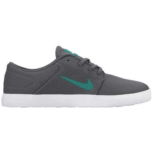 c91fcac9e4e3 Nike SB Portmore Ultralight - Men s - Casual - Shoes - Dark Grey Rio Teal