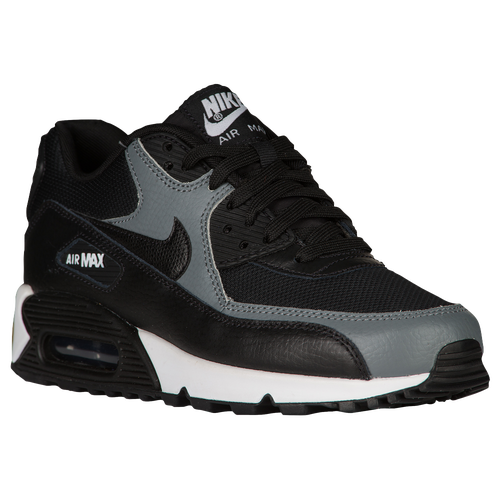nike air max 90 women 39 s running shoes black black. Black Bedroom Furniture Sets. Home Design Ideas