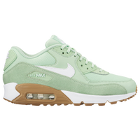 Nike Air Max 90 - Womenu0027s - Running - Shoes - Black/Palm Green