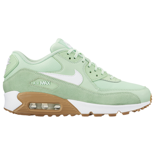 Nike Air Max 90 - Women's - Casual - Shoes - Fresh Mint/Barely Green/Gum Light Brown