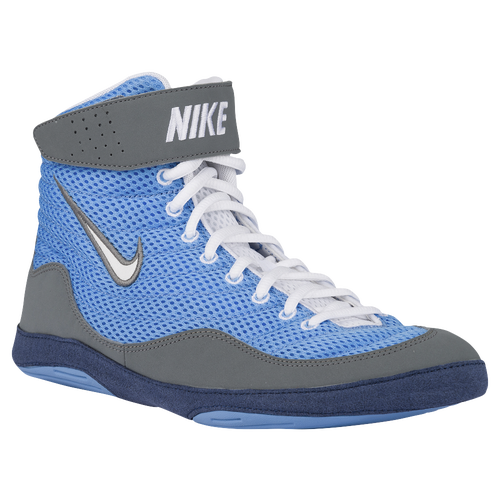 Nike Inflict 3 - Men's - Wrestling - Shoes - University Blue/White/Cool  Grey/Midnight Navy
