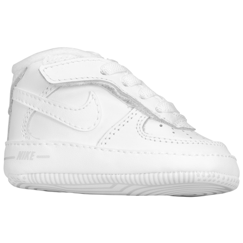 White Air Force Crib Shoes