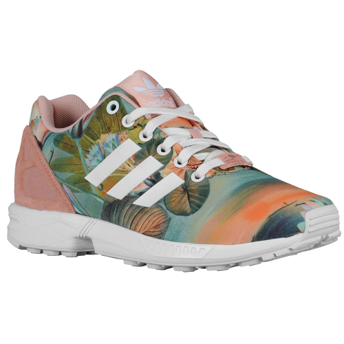 adidas Originals ZX Flux - Women's Casual - Dusty Pink/White/Dusty Pink 25483