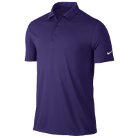 Nike Victory Solid Polo - Men's - Purple / Purple