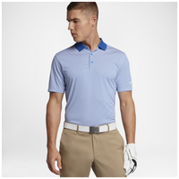 Nike Victory Mini Stripe Polo - Men's - Blue / White