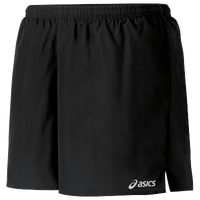"ASICS® 5"" Core Pocketed Shorts - Women's - All Black / Black"