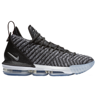 Nike LeBron 16 - Men's -  Lebron James - Grey / Black