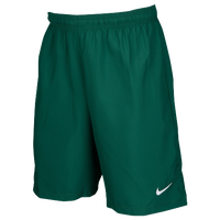 Nike Team Laser Woven Shorts - Men's - Dark Green / Dark Green