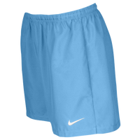 Nike Team Laser Woven Shorts - Women's - Light Blue / Light Blue
