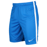 Nike Team League Knit Shorts - Grade School - Light Blue / White