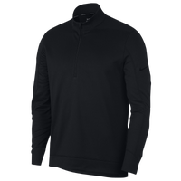 Nike Therma Repel 1/2 Zip Golf Top - Men's - All Black / Black