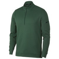 Nike Therma Repel 1/2 Zip Golf Top - Men's - Green / Black
