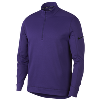Nike Therma Repel 1/2 Zip Golf Top - Men's - Purple / Black