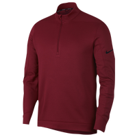 Nike Therma Repel 1/2 Zip Golf Top - Men's - Cardinal / Black