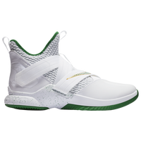Nike LeBron Soldier XII - Men's -  Lebron James - White / Green