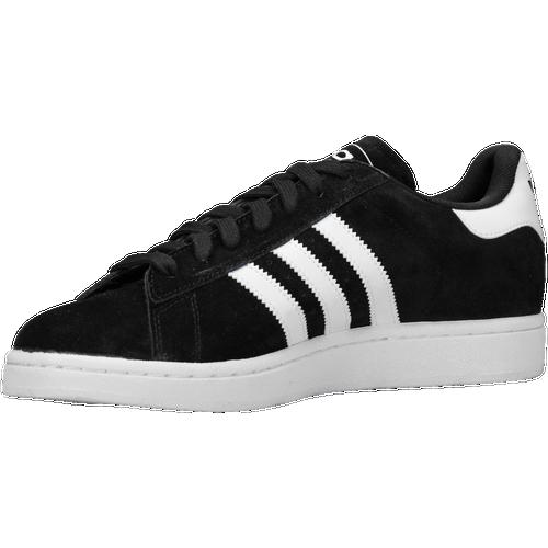 adidas originali campus uomini scarpe nero / bianco / nero occasionale