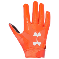 Under Armour F6 Youth LE Receiver Gloves - Orange