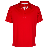 Oakley Elemental 2.0 Golf Polo - Men's - Red / White