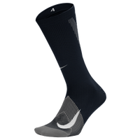Nike Elite Lightweight Crew Running Socks - Black / Grey