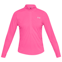 Under Armour Streaker 2.0 1/2 Zip - Boys' Grade School - Pink