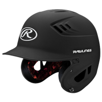 Rawlings Coolflo R16 Senior Batting Helmet - Men's - Black / White