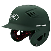 Rawlings Coolflo R16 Senior Batting Helmet - Men's - Dark Green / White